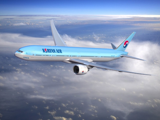 The Seoul Incheon−Rome service will begin operations with the airline's B777-300ER.