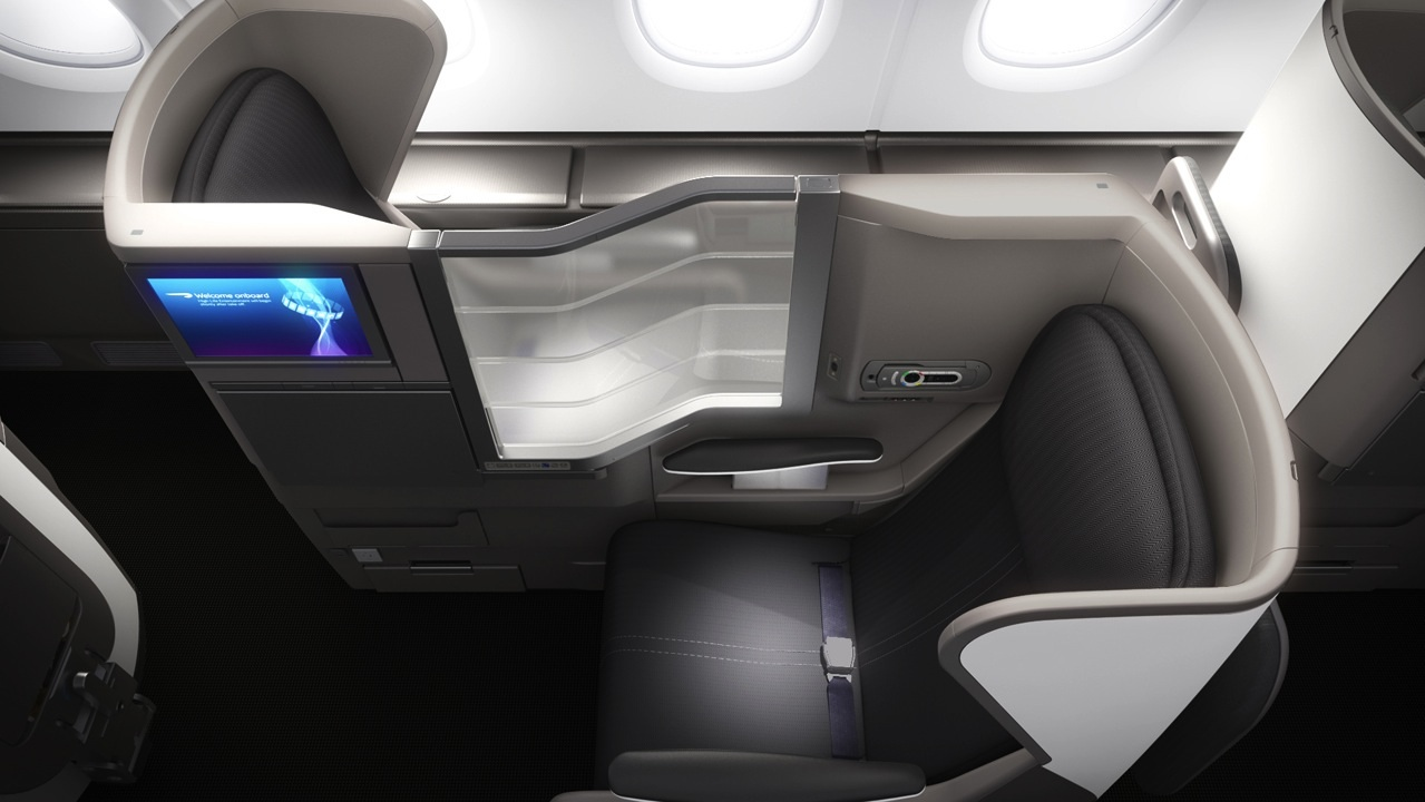 Club World Class or Business Class on British Airway's new A380.