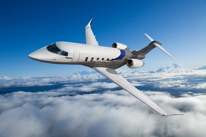 The sleek and sophisticated Challenger 350.