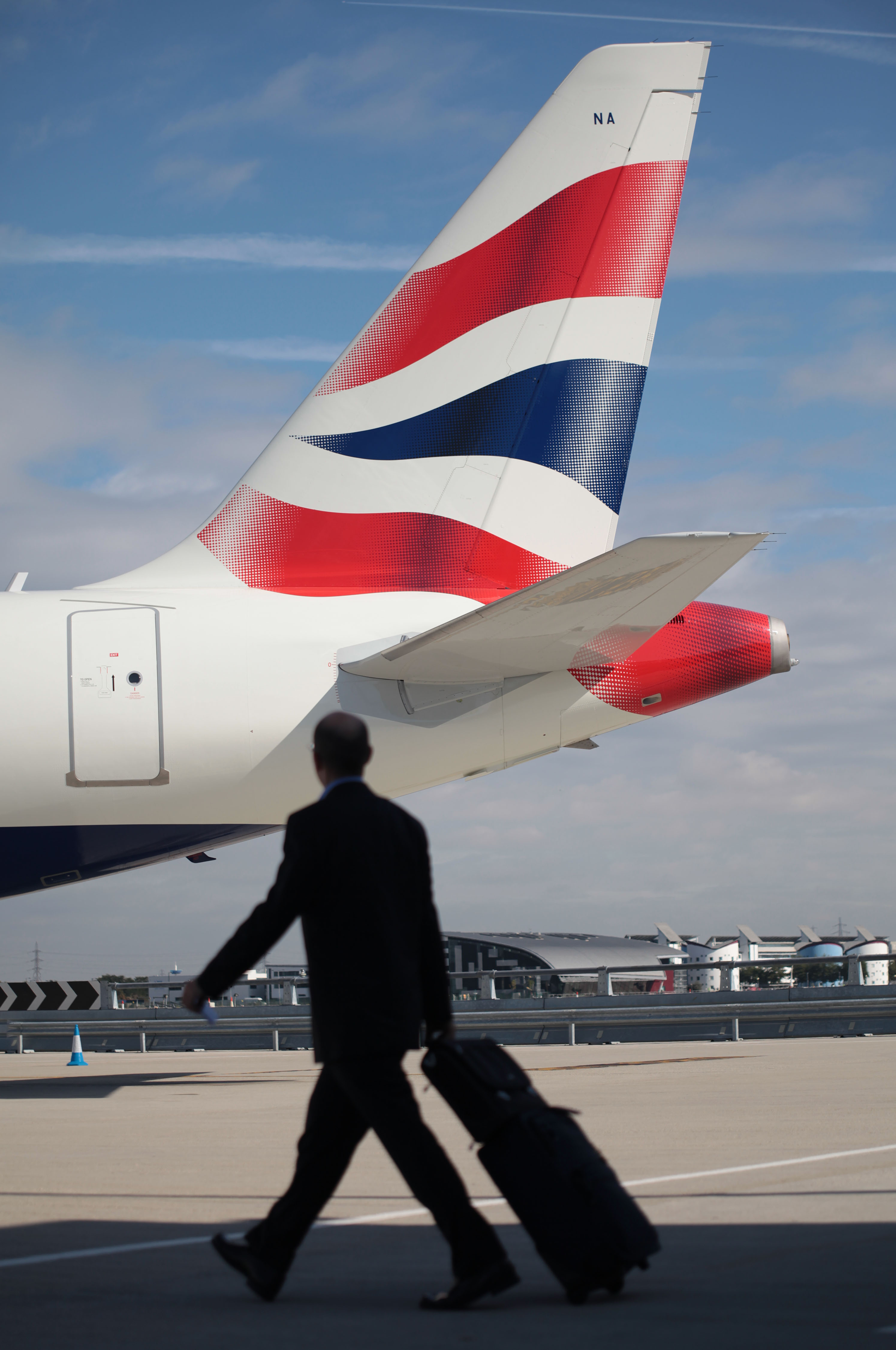 In the future, bag tags might be all electronic with British Airways.