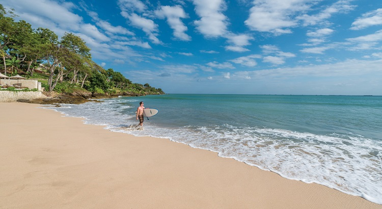 Four Seasons Bali takes advantage of the stunning natural environment to embrace an active lifestyle.