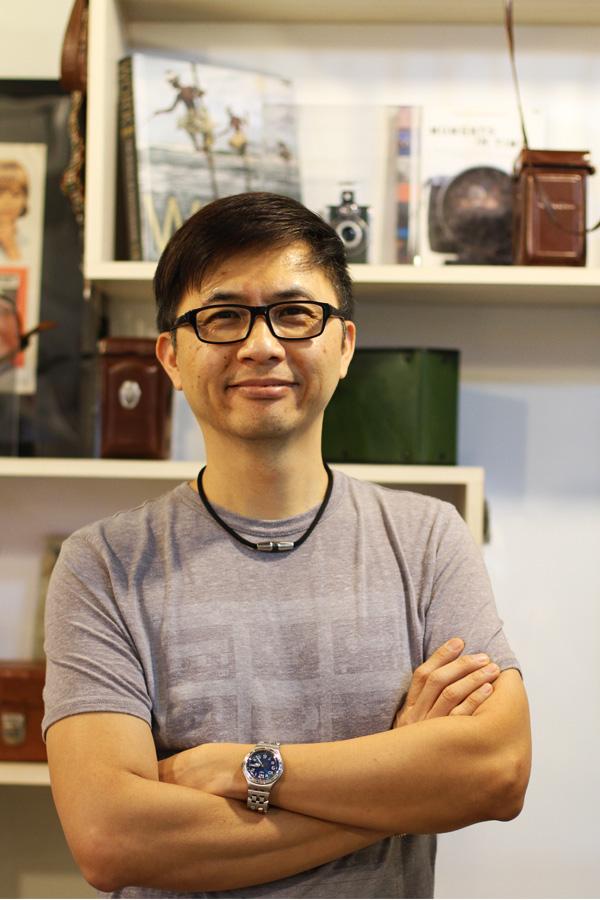 Owner KoonYik Chin.