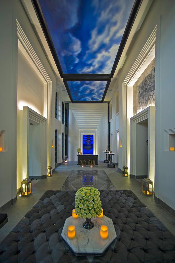 Bangkok-based Bill Bensley created the swanky look of the resort.
