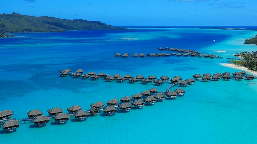 Visit Four Seasons Bora Bora with the Around the World trip.