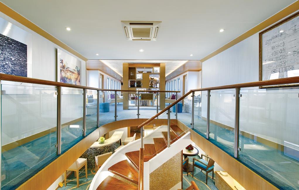 The Salila, a luxury liveaboard cruise.