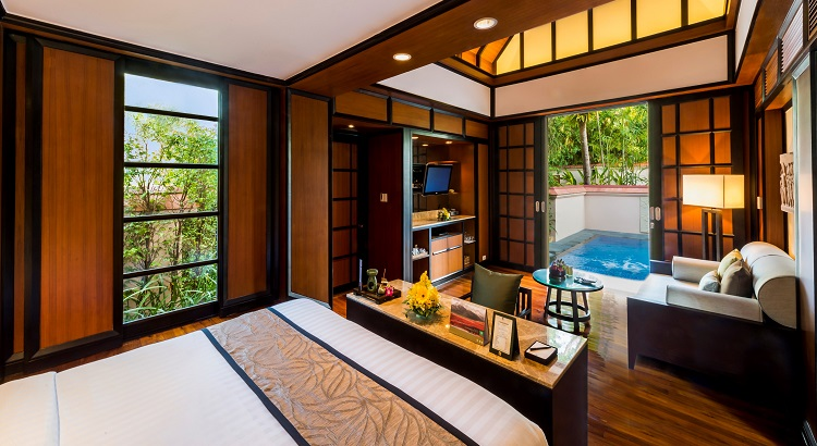 Banyan Tree phuket comprises a total of 174 Thai-inspired spacious private villas.