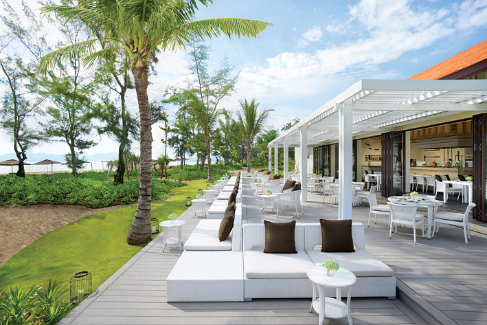 The property is part of a 280-hectare integrated resort complex.