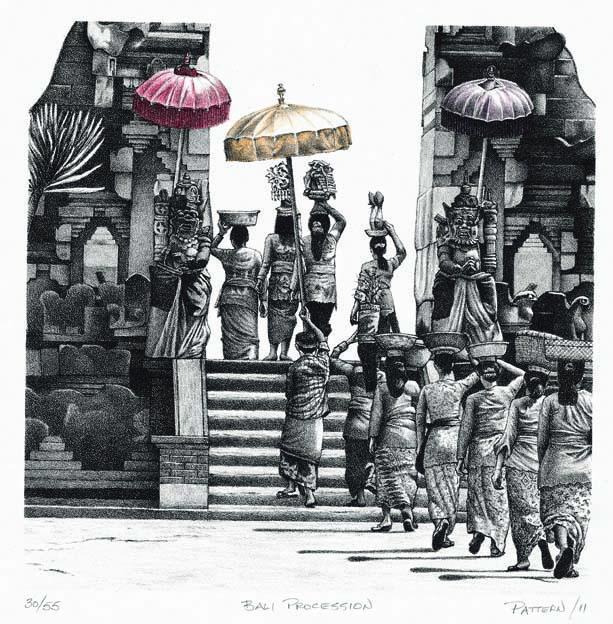 Above: Bali Procession