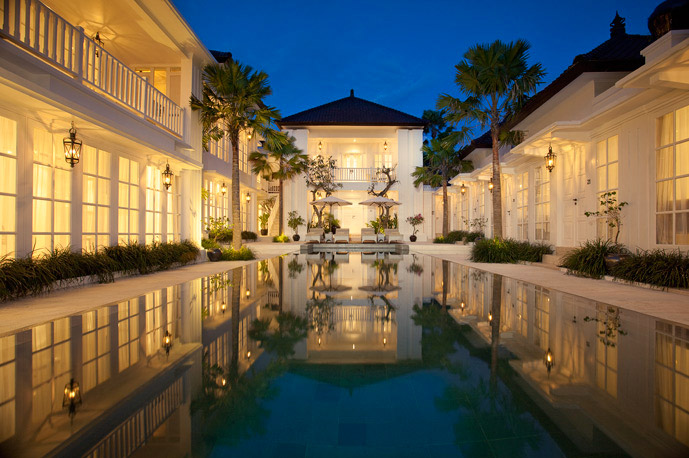 Bali hotels: the Colony Hotel in Seminyak