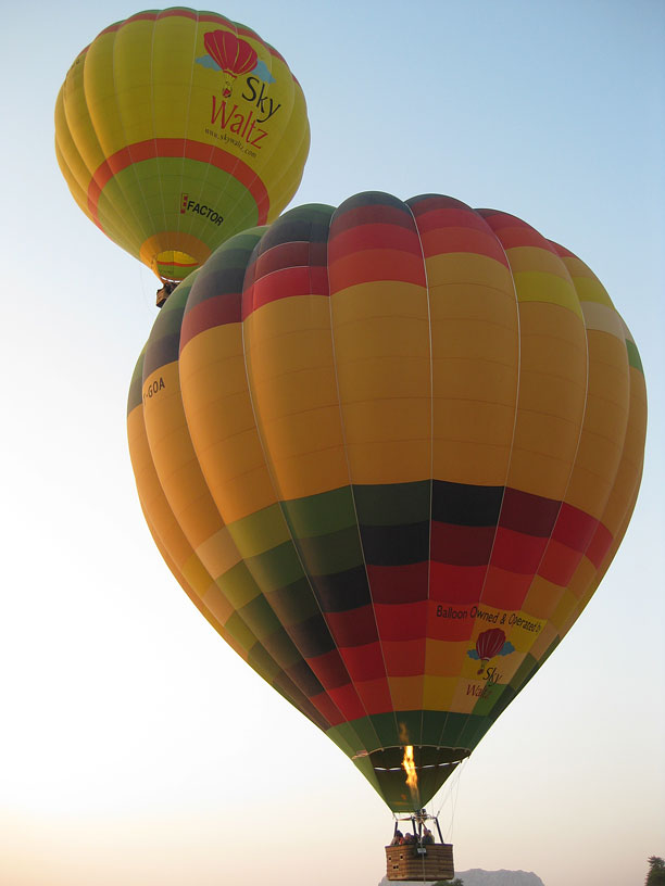 Sky Waltz Balloon Safari now flies in Lonavala.