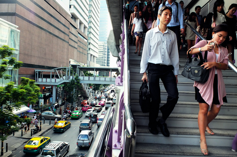Bangkok edges out London as the world's most visited city.