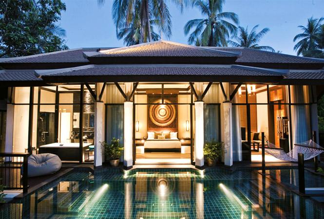 The luxe list 2010 banyan tree samui koh samui destinasian for Koh tao cabana koi pool villa
