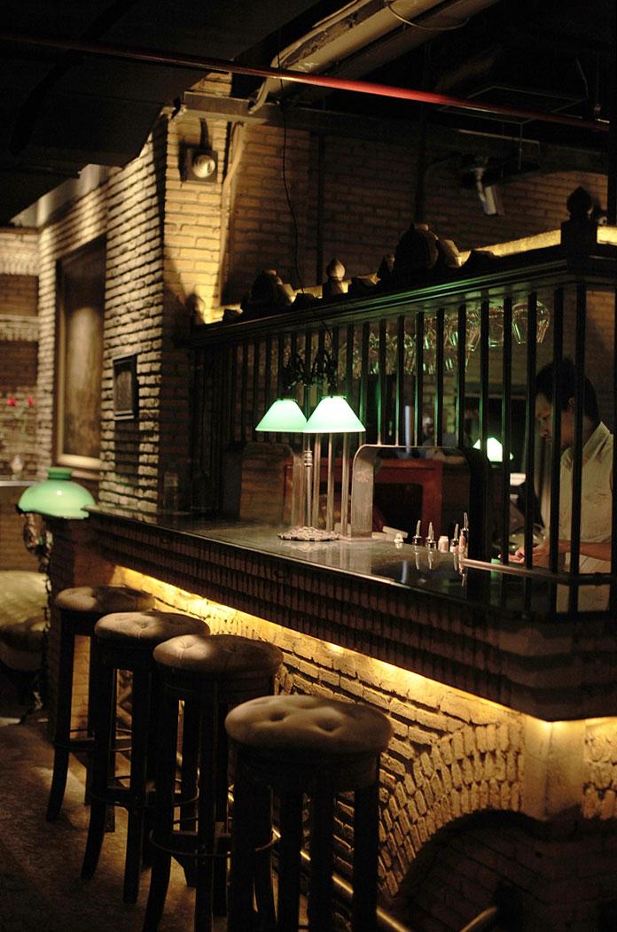 Maggie Choo's bar.