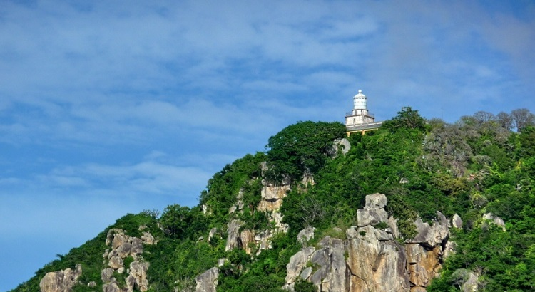 The Bay Canh lighthouse. (Photo: vietnamtourism.info)
