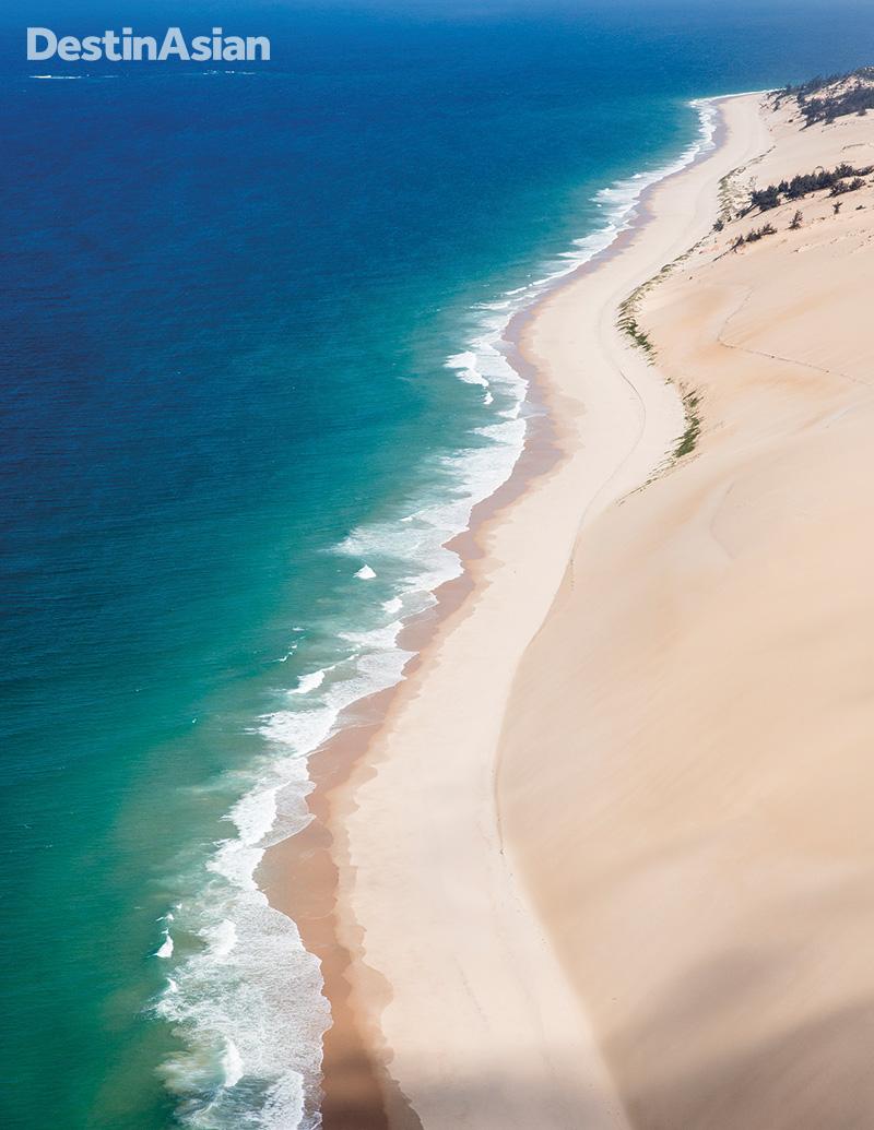 A pristine beach on Bazaruto Island