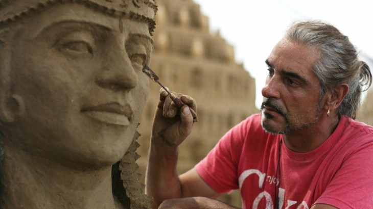 Indonesia Sand Sculpture Festival