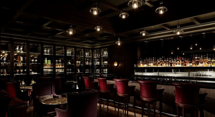 The Royal Bar at Palace Hotel Tokyo.
