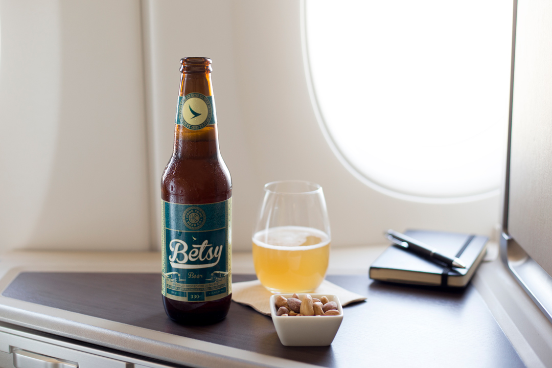Betsy Beer was crafted in partnership with Hong Kong Beer Company.