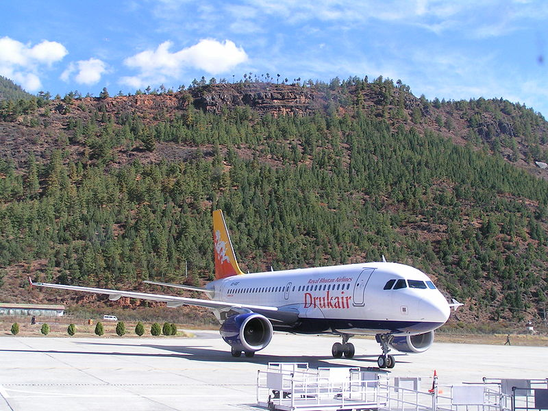 Bhutan Airways joins Drukair Royal Bhutan Airlines.