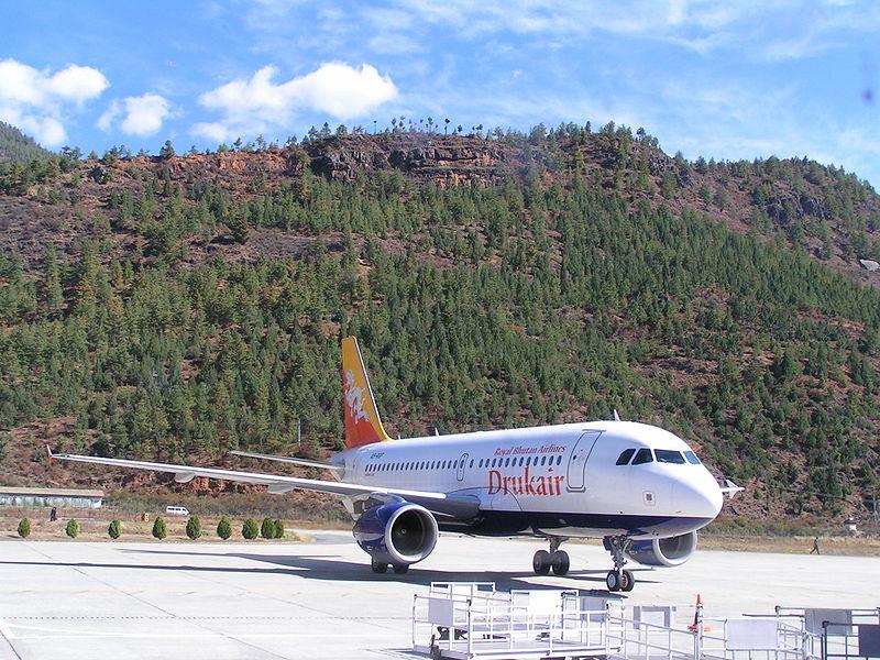 Bhutan Airways joins Drukair Royal Bhutan Airlines.