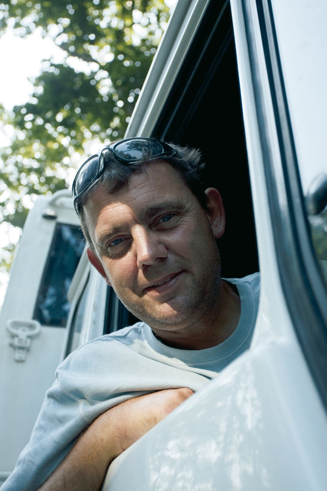 Driver and tour leader Nick Fulford.
