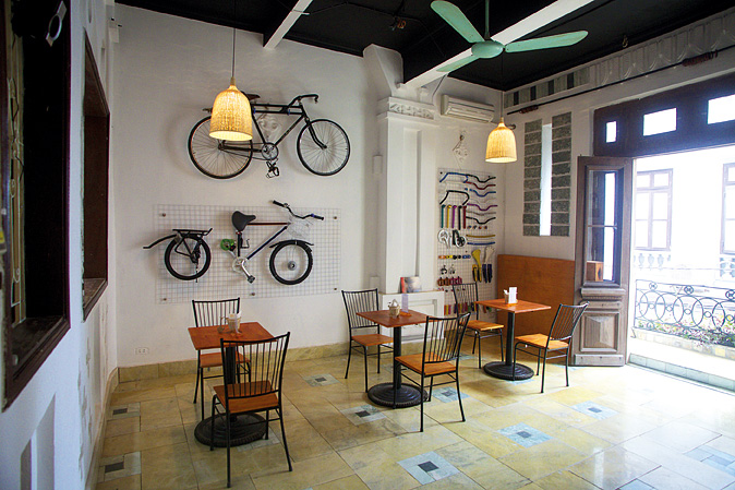 The Hanoi Bicycle Collective.
