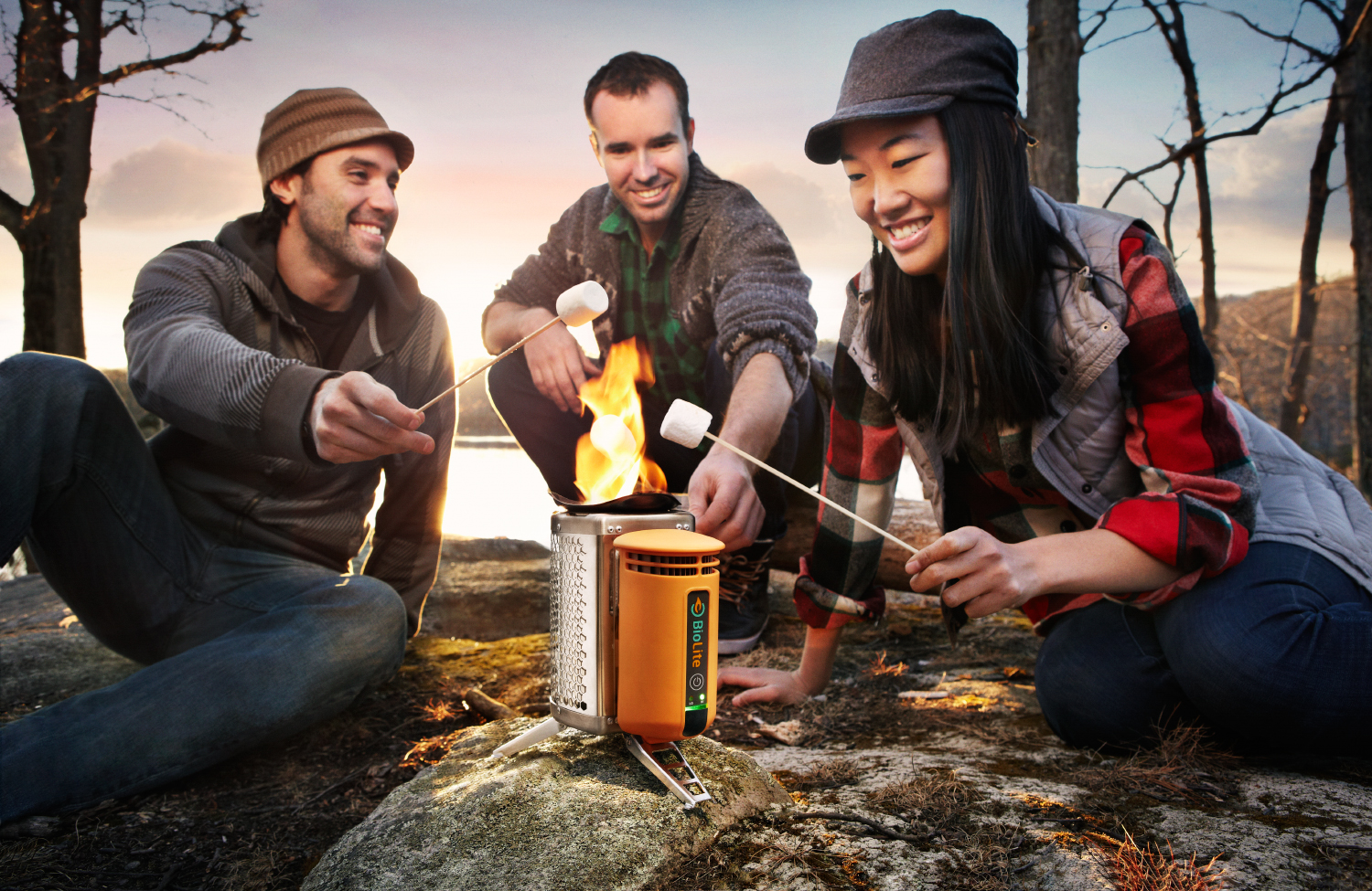 Never go off the grid with the BioLite CampStove.