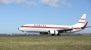 The Qantas Retro Roo II.