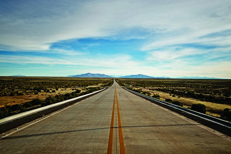 This highway when complete will greatly improve the transportation of raw materials between Bolivia and Chile.