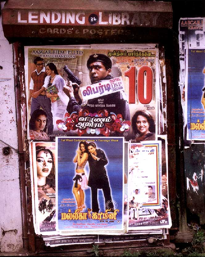 Bollywood movies on show in Ooty.
