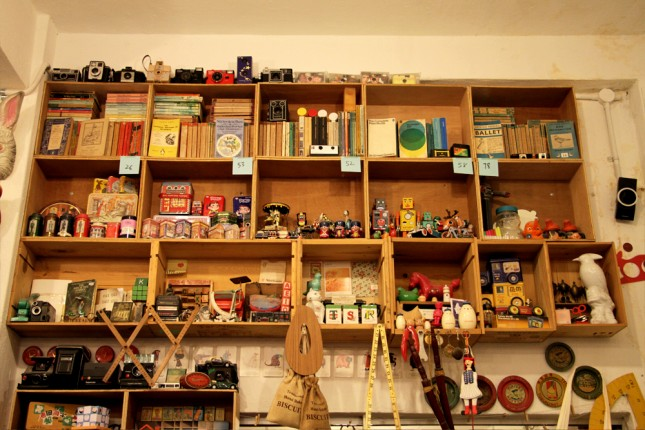 Fringe activities include rubber stamp carving and silk screen printing. BooksActually pictured here.