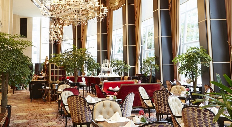 The Brasserie Les Saveurs at St. Regis Singapore.