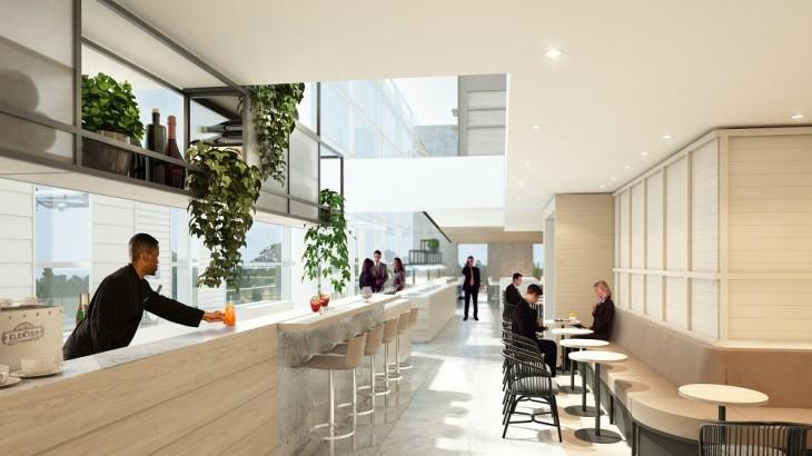 Brisbane Qantas Lounge Rendering