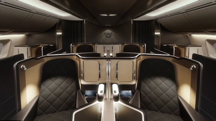 British Airways' new first class cabin will seat just eight passengers.