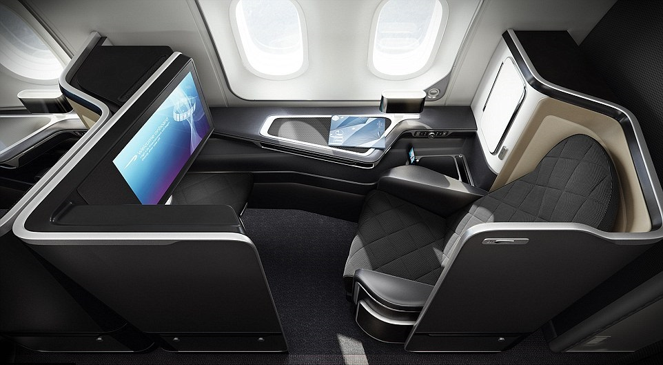 Each seat comes with three new storage areas.
