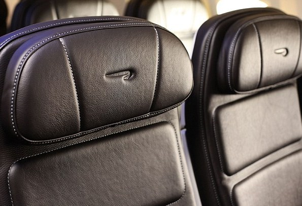 Four-way adjustable headrests provide extra comfort.