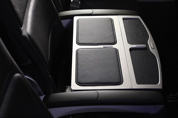 New tray-tables can be adjustable for optimal positioning.