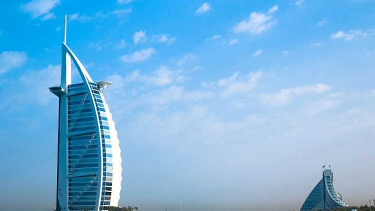 The Burj Al Arab in Dubai, one of Jumeirah Group's most iconic properties.