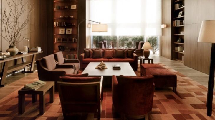 A meeting room at Park Hyatt.