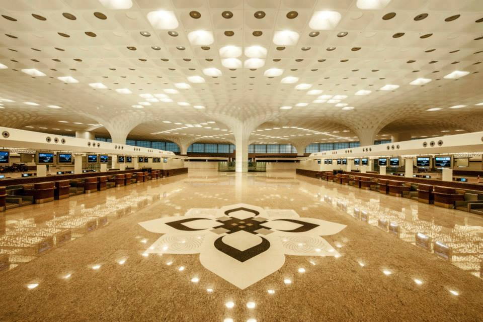 Traditional Indian design touches also grace the terminal.