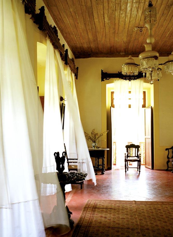 The Palácio do Deão's foyer.
