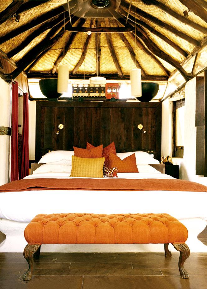 A suite at Mahua Kothi.