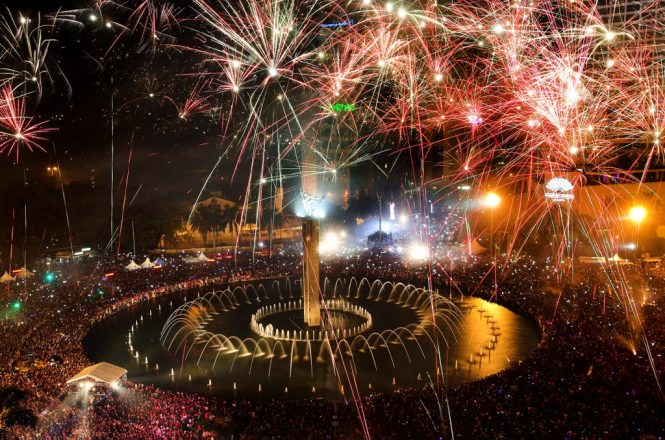 Jakarta New Year's Eve Celebrations 2018