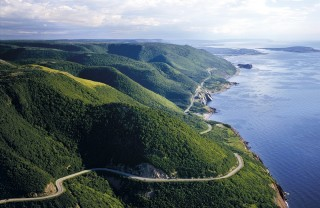 Cabot Trail Aerial