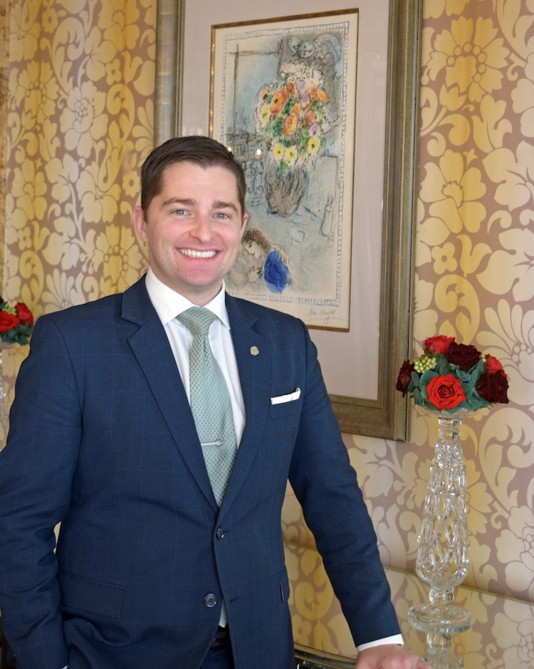 Cameron Cundle, the Director of Rooms at The St. Regis Singapore.