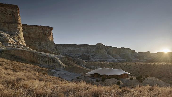 Inside Aman's New Luxury Camp in Utah