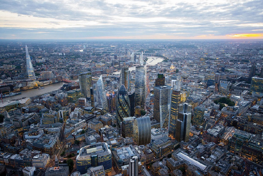 London's growing skyline is one of the focal points of this year's festival.