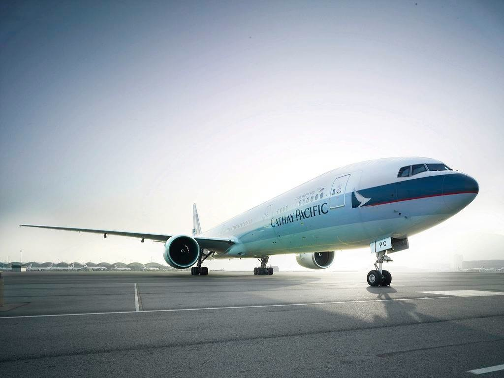 A Boeing 777 will service the Hong Kong-Manchester route.