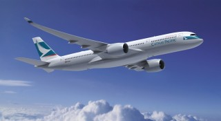 Delivery for Cathay Pacific's A350-900 aircraft is expected to begin in April.