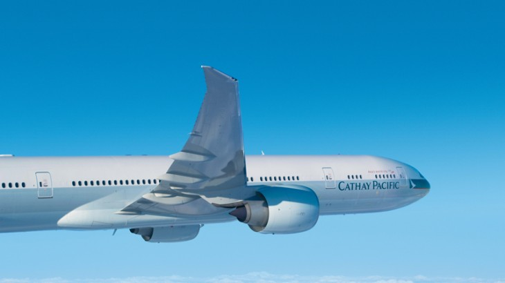 Cathay Pacific will fly five times a week starting December.